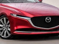 Появились первые изображения новой Mazda 6