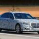 На тестах замечен прототип бронированного Mercedes S-Class Guard 2021