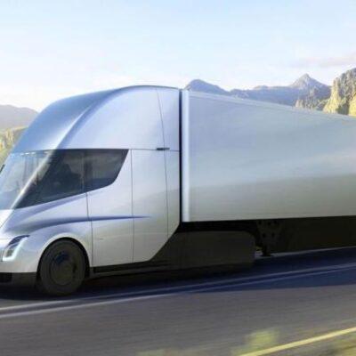 Tesla, грузовик беспилотный