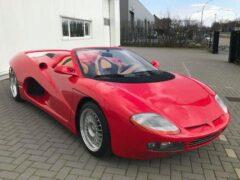 Уникальный родстер на базе Ferrari Testarossa продают за 60 миллионов рублей