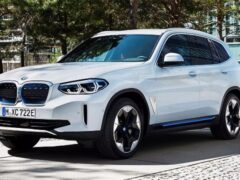 Новый BMW iX3 показали на официальных фотографиях