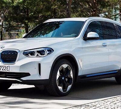 BMW iX3, электрокар
