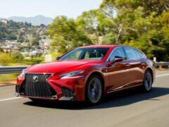 Обновлённому Lexus LS вернут двигатель V8