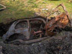 Ford «похоронили» на заднем дворе, где он пролежал 50 лет