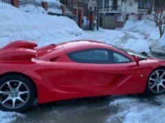 Барнаулец продает самодельный суперкар McLaren за 1,75 млн рублей