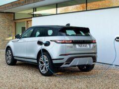 Бренд Land Rover представил гибридные Evoque и Discovery Sport