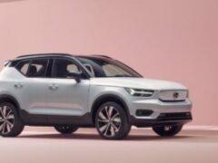 Volvo XC40 получит новые гибридные моторы