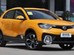 Компания Dongfeng обновила конкурента Hyundai Creta