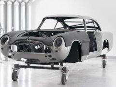 Aston Martin возобновила выпуск легендарной модели DB5