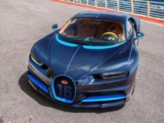Трехлетний Bugatti Chiron продают со скидкой больше 600 000 евро