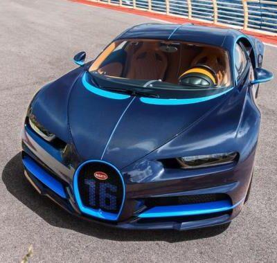 Bugatti Chiron 2017 года