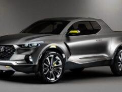 В Сети появились новые рендеры пикапа Hyundai Santa Cruz