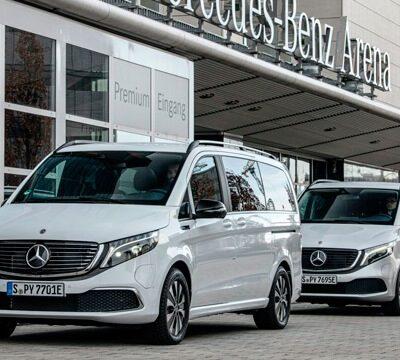 Mercedes-Benz EQV, электромобиль
