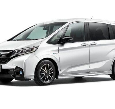 Honda Freed Modulo X, обновленная