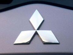 Появились изображения нового седана Mitsubishi Galant