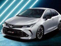 Седан Toyota Corolla получил спортивную вариацию