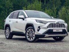 Новый Toyota RAV4 пользуется ажиотажным спросом