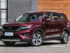 Объявлена дата продаж конкурента Toyota Highlander от Geely