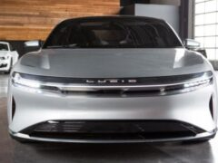 Серийный электромобиль Lucid дебютирует в сентябре