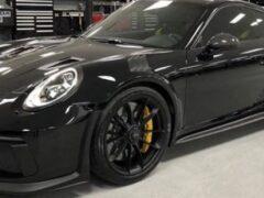 Новый Porsche 911 GT3 тестируют на Нюрбургринге