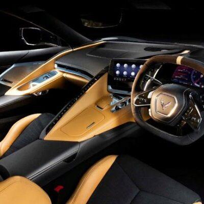 Chevrolet Corvette С8 с правым рулем