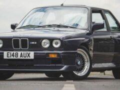 На аукционе продают редкий BMW M3 Evo II образца 1988 года