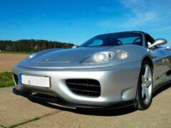 На продажу выставили точную копию Ferrari 360, сделанную из Toyota