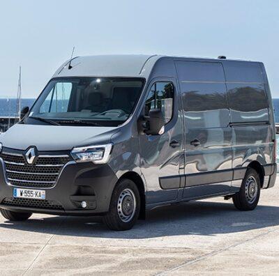 Renault Master, обновленный фургон