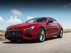 Maserati Ghibli окажется первым гибридом марки