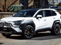 Для нового Toyota RAV4 разработан хардкорный тюнинг-кит
