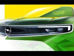 Opel показал изображение нового Mokka