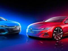 Опубликованы новые изображения рестайлингового Volkswagen Arteon