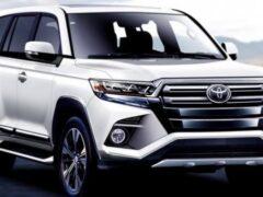Toyota готовится выпустить новый Land Cruiser 300