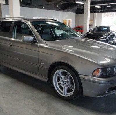 BMW, 17-летний универсал