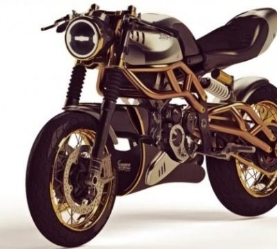 Langen Motorcycles 2-Stroke, маленький мотоцикл