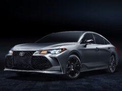 Компания Toyota обновила седан Avalon