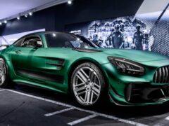 Mercedes-AMG GT R Pro получил доработки от Carlex Design