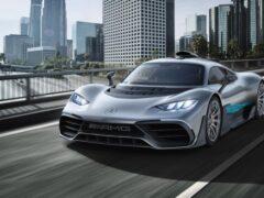 Mercedes-AMG One проходит финальный этап дорожных испытаний
