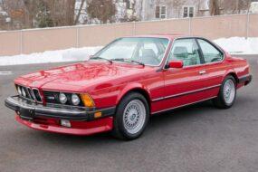 Редкий BMW M6 с «акульим носом» продают по цене нового X3