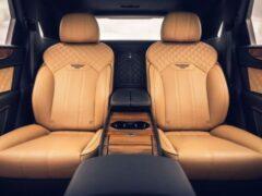Компания Bentley представила 4-местную вариацию Bentayga