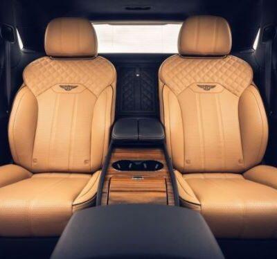 Bentley Bentayga, 4-местный
