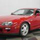 Старая Toyota Supra 1997 оценена вдвое дороже новой