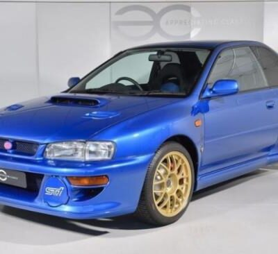 Subaru Impreza 22B STi, 1998 г