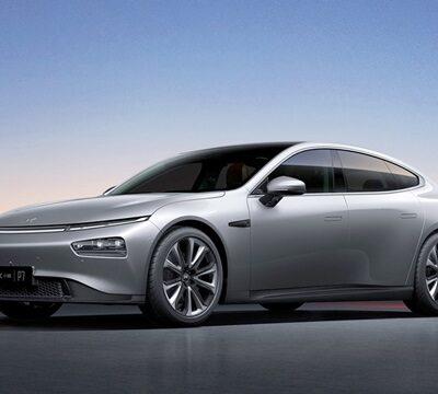 Xpeng P7, новый седан