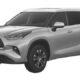 Toyota запатентовала в РФ новый Toyota Highlander