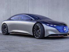 Электрический Mercedes-Benz S-Class установит рекорд по дальности хода