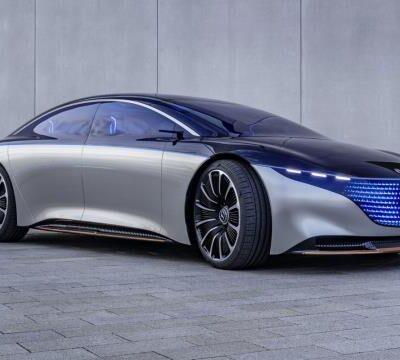 Mercedes-Benz S-Class, электрический