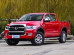 Китайский аналог Toyota Tundra получил премиальную версию
