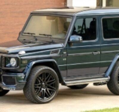 Mercedes-Benz G500, трехдверный