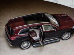 Кросс Mercedes-Maybach GLS 600 получил рублевый ценник